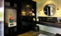 Bathroom with Mirror - Villa De Suma - Seminyak, Bali