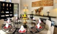 Indoor Dining Area - Villa De Suma - Seminyak, Bali
