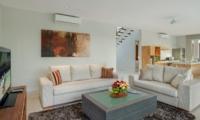 Living Area with TV - Villa Delmar - Canggu, Bali