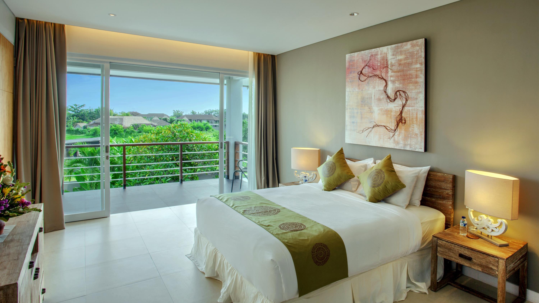 Bedroom with View - Villa Delmar - Canggu, Bali