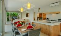 Living, Kitchen and Dining Area - Villa Delmar - Canggu, Bali