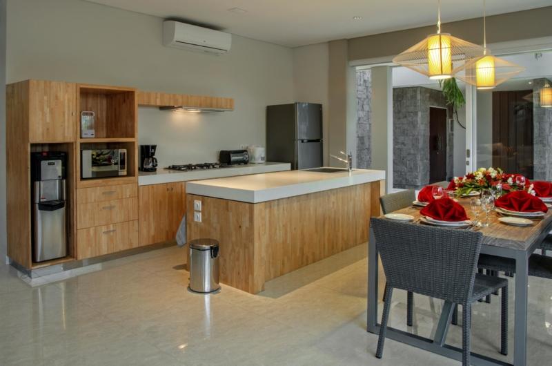 Kitchen and Dining Area - Villa Delmar - Canggu, Bali