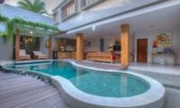 Pool Side - Villa Denoya - Seminyak, Bali