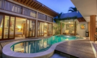 Pool at Night - Villa Denoya - Seminyak, Bali