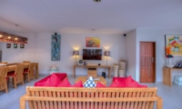 Living Area with TV - Villa Denoya - Seminyak, Bali