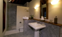 Bathroom with Shower - Villa Des Indes 1 - Seminyak, Bali