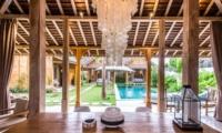 Dining Area with Pool View - Villa Du Bah - Kerobokan, Bali