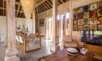 Living and Dining Area - Villa Du Bah - Kerobokan, Bali
