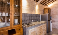 Kitchen with Crockery - Villa Du Bah - Kerobokan, Bali