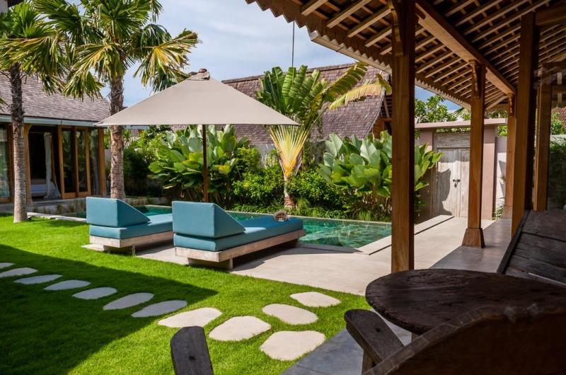 Pool Side Loungers - Villa Du Bah - Kerobokan, Bali