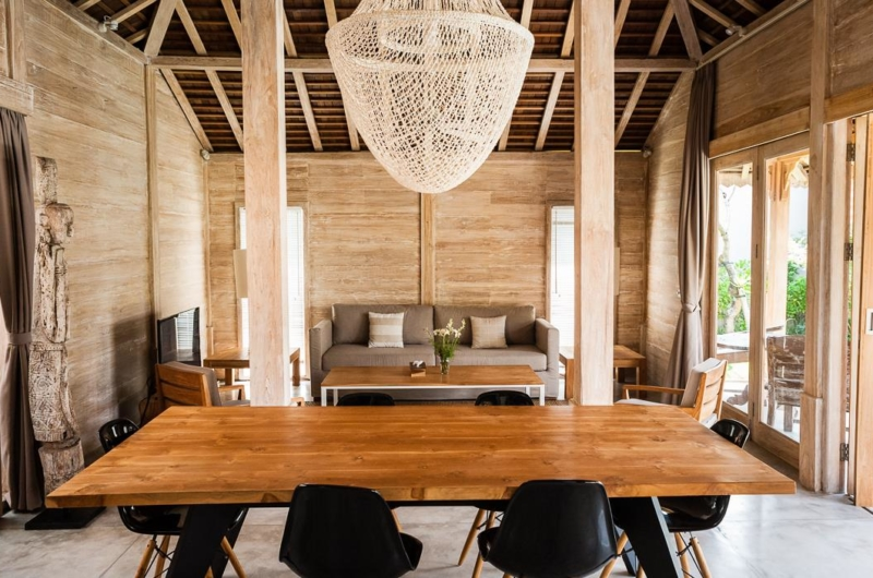 Living and Dining Area - Villa Du Ho - Kerobokan, Bali