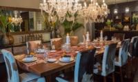 Dining Table - Villa Eshara - Seminyak, Bali