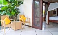 Bedroom and Balcony - Villa Gading - Seminyak, Bali