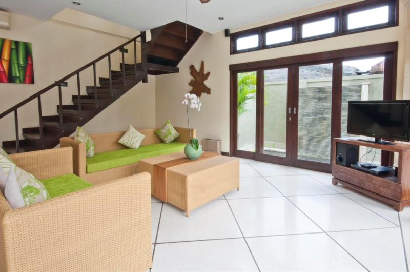 Living Area with Up Stairs - Villa Gading - Seminyak, Bali