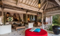 Indoor Living Area with View - Villa Galante - Umalas, Bali
