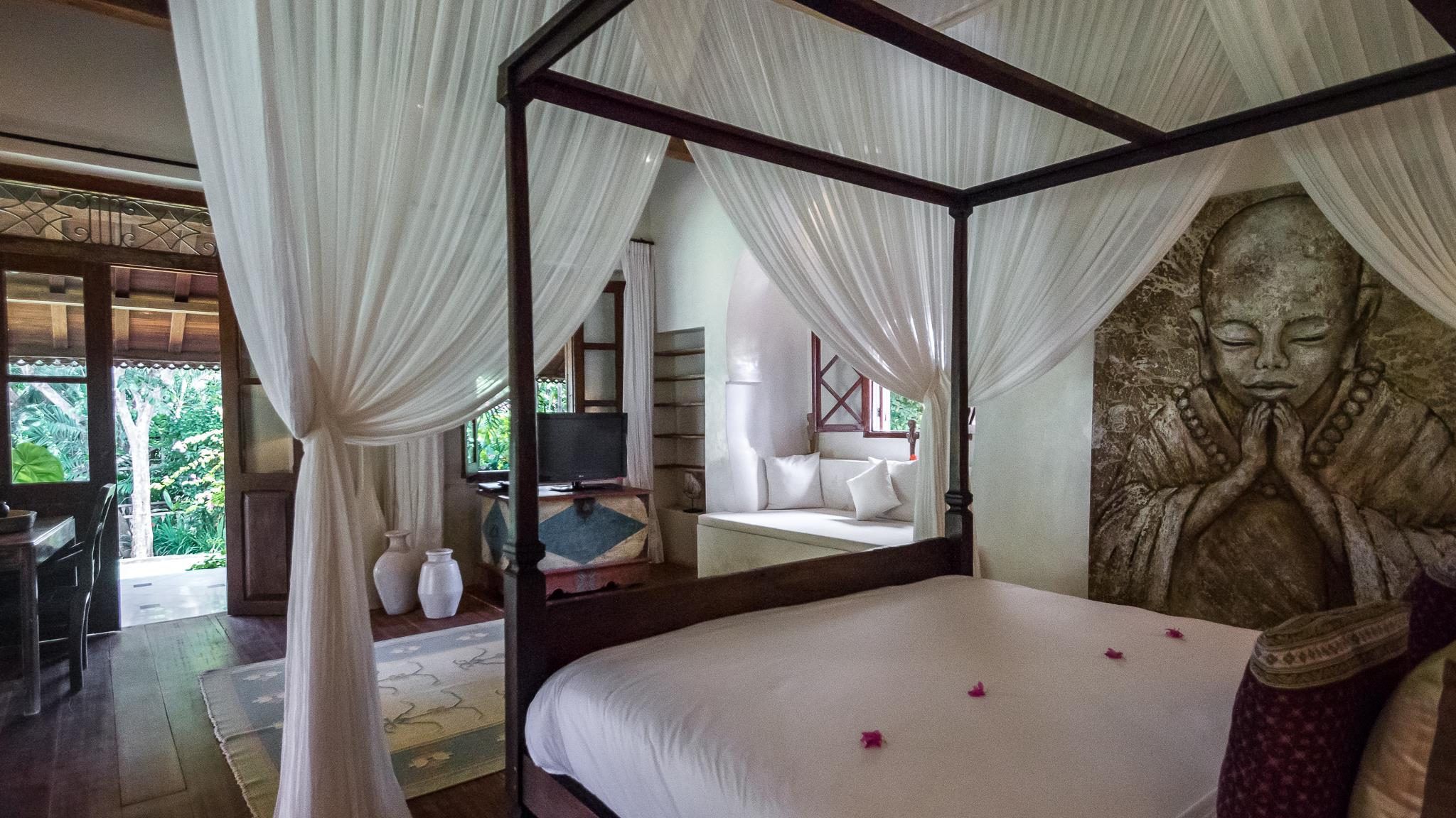 Four Poster Bed with View - Villa Galante - Umalas, Bali