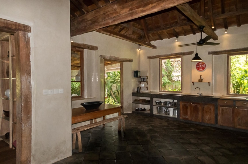 Kitchen Area - Villa Galante - Umalas, Bali