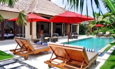 Gardens and Pool - Villa Gembira - Seminyak, Bali