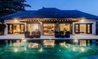 Pool Side - Villa Gembira - Seminyak, Bali