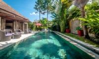 Pool Side Seating Area - Villa Gembira - Seminyak, Bali