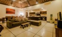 Living Area with TV - Villa Gembira - Seminyak, Bali