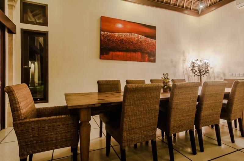 Dining Area - Villa Gembira - Seminyak, Bali