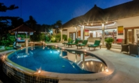 Pool at Night - Villa Ginger - Seminyak, Bali