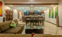 Living and Dining Area - Villa Ginger - Seminyak, Bali