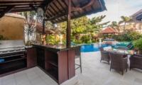 Outdoor Barbeque - Villa Ginger - Seminyak, Bali