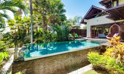 Pool Side - Villa Gita Ungasan - Ungasan, Bali