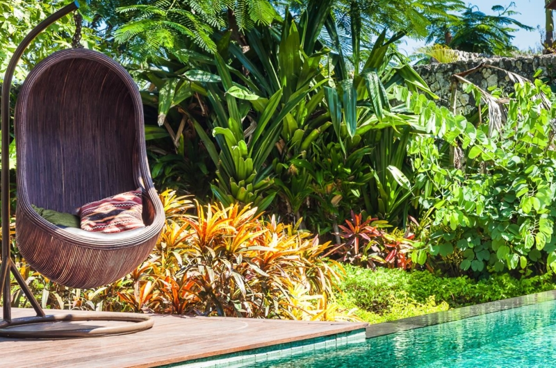 Pool Side Swing Chair - Villa Gita Ungasan - Ungasan, Bali