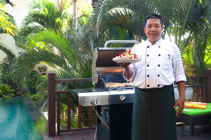 Outdoor Barbeque with Chef - Villa Gita Ungasan - Ungasan, Bali