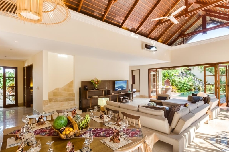 Living and Dining Area - Villa Gita Ungasan - Ungasan, Bali