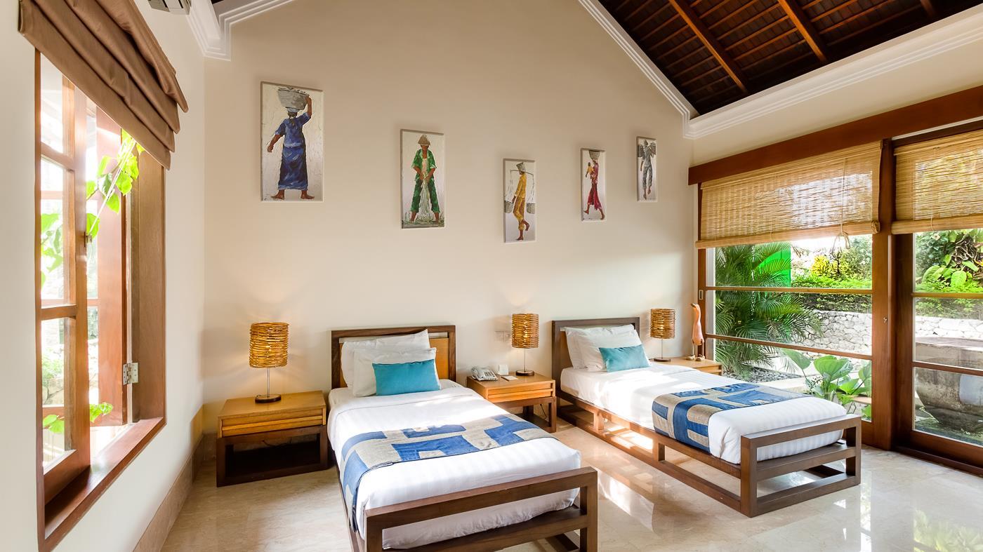 Twin Bedroom - Villa Gita Ungasan - Ungasan, Bali