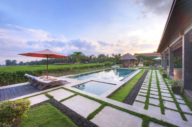 Gardens and Pool - Villa Griya Aditi - Ubud, Bali