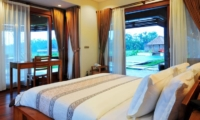 Bedroom with Pool View - Villa Griya Aditi - Ubud, Bali