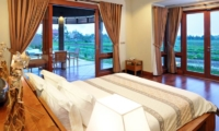 Bedroom with View - Villa Griya Atma - Ubud, Bali
