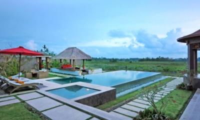 Gardens and Pool - Villa Griya Atma - Ubud, Bali