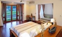 Bedroom with View - Villa Griya Atma - Ubud, Bali