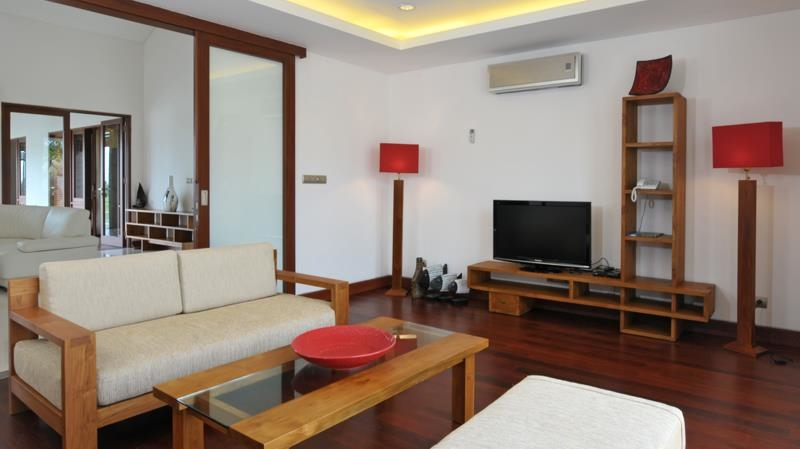 Lounge Area with TV - Villa Griya Atma - Ubud, Bali