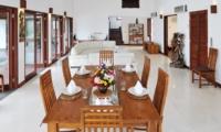 Indoor Living and Dining Area - Villa Griya Atma - Ubud, Bali