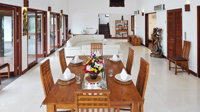 Indoor Living and Dining Area - Villa Griya Atma - Ubud, Bali