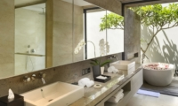 His and Hers Bathroom - Villa Hamsa - Ungasan, Bali