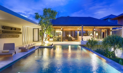 Pool at Night - Villa Hamsa - Ungasan, Bali