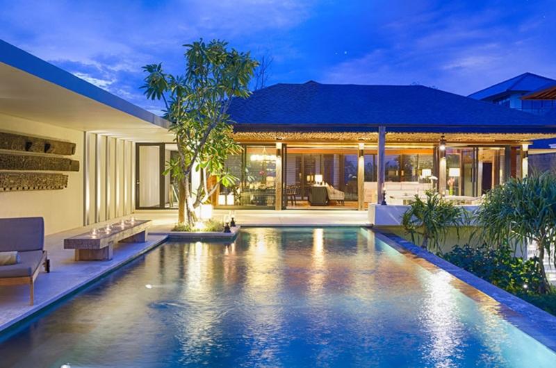 Pool at Night - Villa Hamsa - Ungasan, Bali