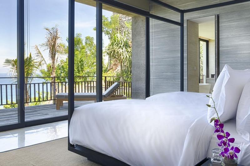 Bedroom with Sea View - Villa Hamsa - Ungasan, Bali