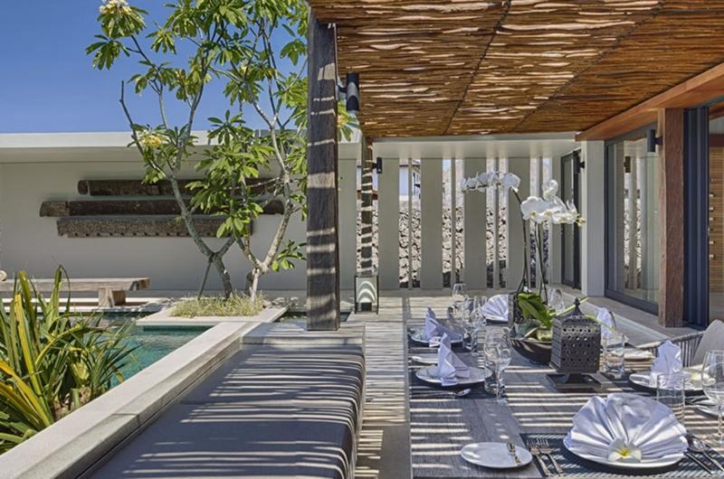 Outdoor Dining Area - Villa Hamsa - Ungasan, Bali