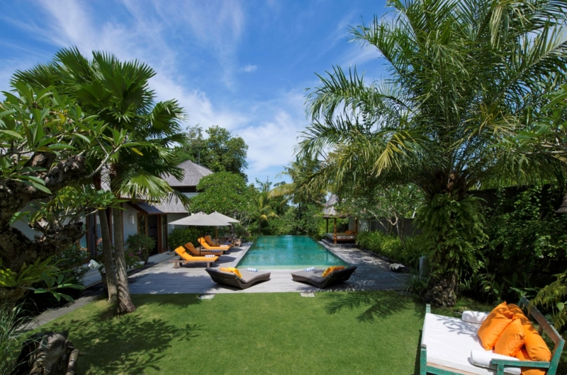 Pool Side Seating Area - Villa Hansa - Canggu, Bali