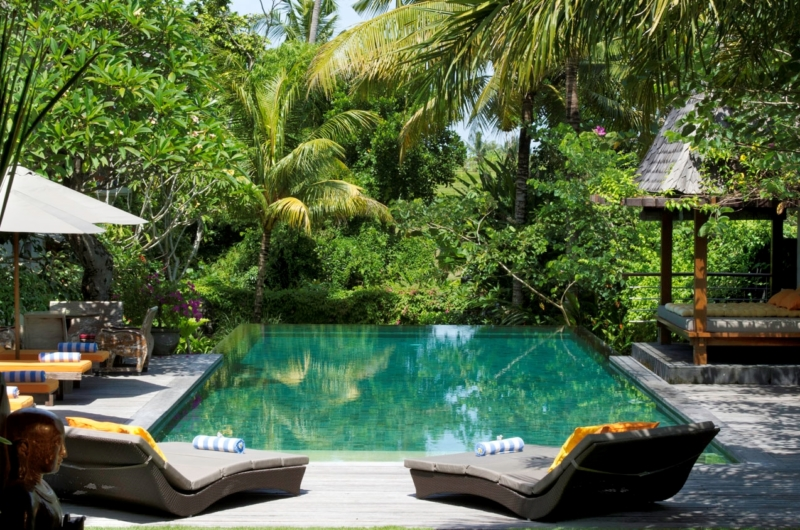 Pool Side Loungers - Villa Hansa - Canggu, Bali