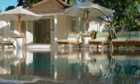 Pool Side Loungers - Villa Hermosa - Seminyak, Bali